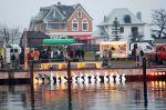 Trommelfeuer im Niendorfer Hafen